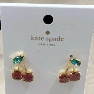 Kate spade new york Ma Cherie Cherry Stud Earrings